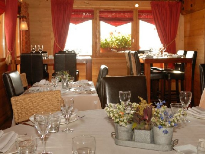 Restaurants in Meribel